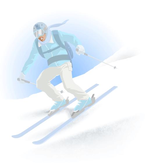 pierdeți în greutate la schi în jos
