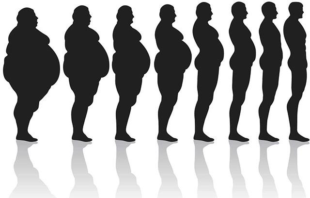 scădere în greutate în alb