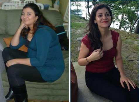 55 kg pierd in greutate