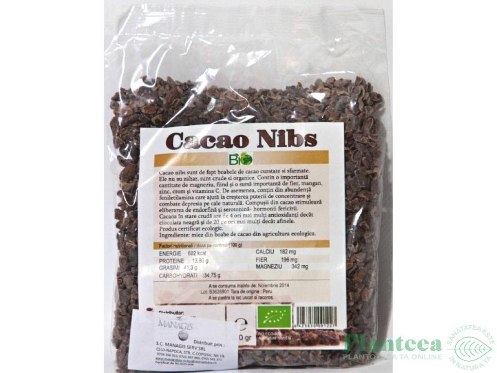 Unt de cacao RAW BIO 100g Dragon Superfoods